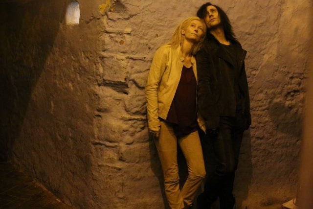 """Only Lovers Left Alive"" - Tilda Swinton & Tom Hiddleston"
