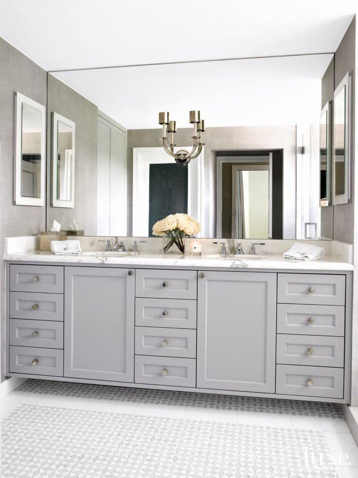 Bathroom Mirror Ideas On Wall Luxury 1923 Best Bathroom Vanities Images On Pinterest In 2020 Bathroom Mirror Design Elegant Bathroom Bathroom Model