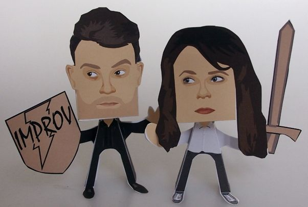 Cariad Lloyd and Paul Foxcroft Paper People Free Paper Toys Download - http://www.papercraftsquare.com/cariad-lloyd-and-paul-foxcroft-paper-people-free-paper-toys-download.html#CariadLloyd, #PaperPeople, #PaulFoxcroft