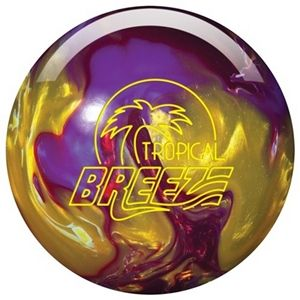 Storm Tropical Breeze Purple/Gold/Cherry bowling ball with a Cinnamon Streusel fragrance that smells like it's hot out of the oven!   http://www.bowlingball.com/products/bowling-balls/storm/10762/tropical-breeze-pearl-purplegoldcherry.html