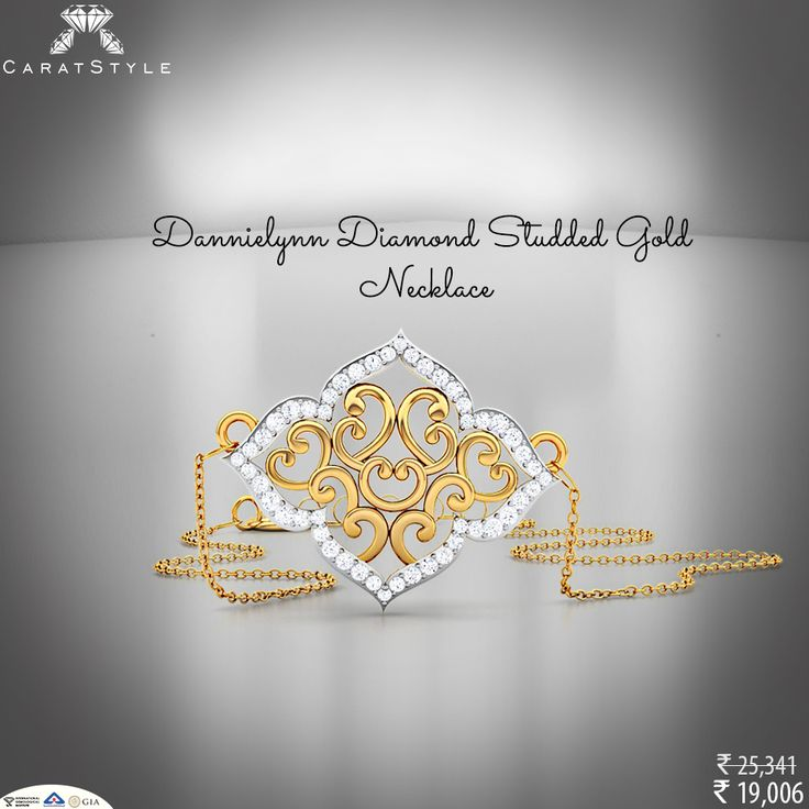 Never out of fashion #necklace for you. #diamondnecklace #goldnecklace #necklaceforwomen #jewellery