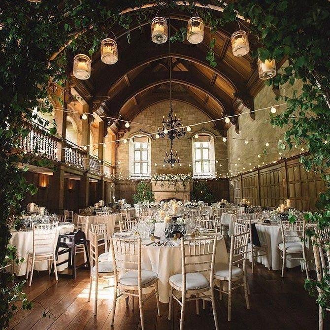 Indoor Fairytale Wedding Reception Wedding Venues Uk Wedding Venue Decorations Countryside Wedding