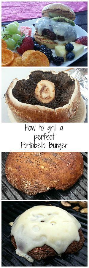 How to Grill a Perfect Portobello Mushroom