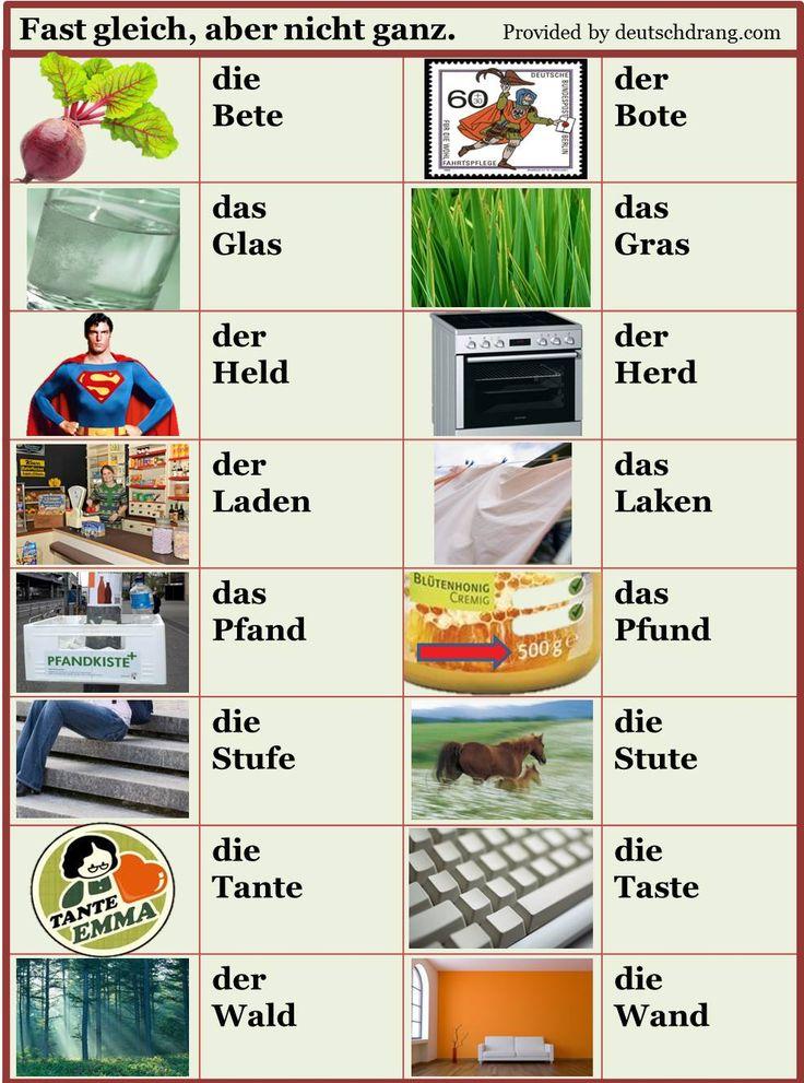 273 Best Deutsch Images On Pinterest German Language Learn German