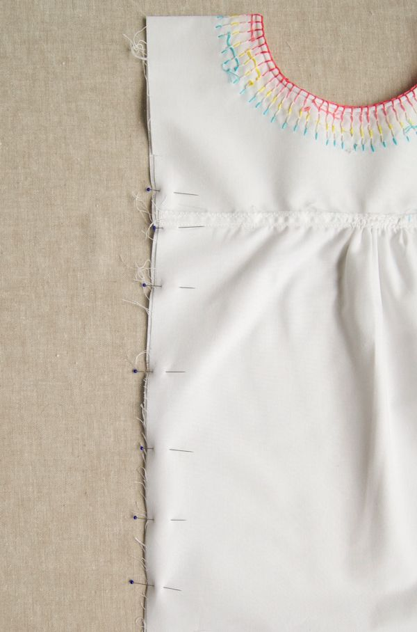 Embroidered Cotton Jumper | The Purl Bee