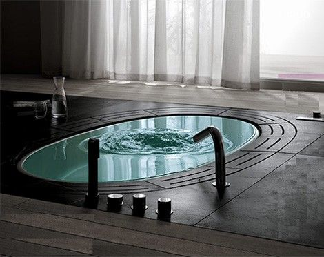 idea for in-ground tub...