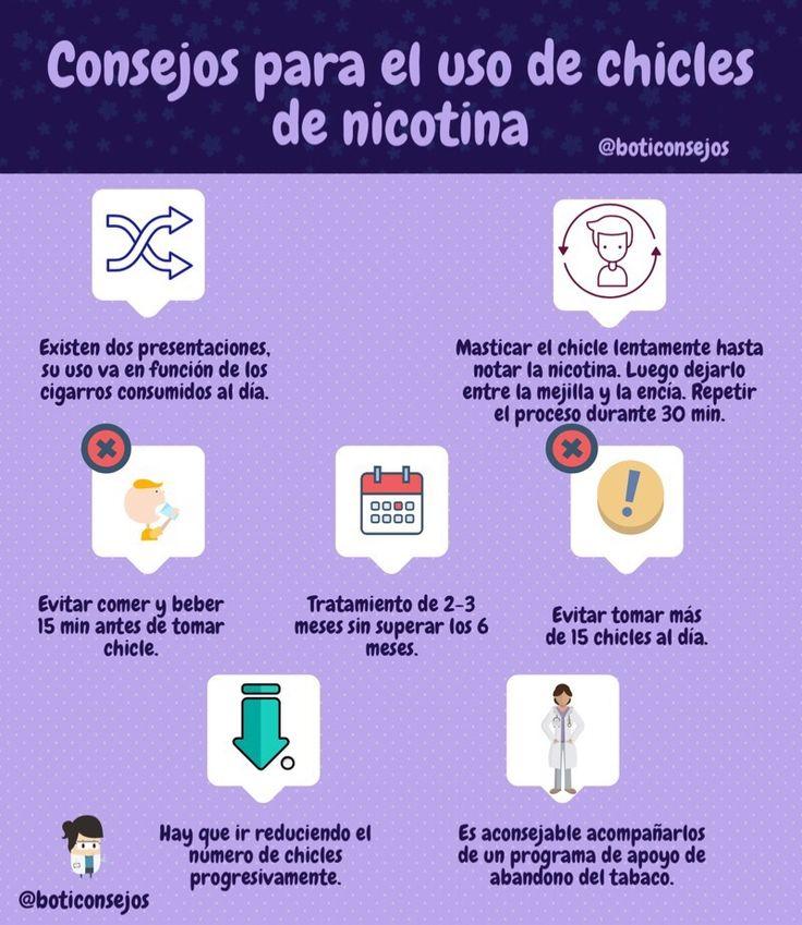 Si no os atreveis con Homeopatía, los chicles de nicotina son una alternativa a DEJAR DE FUMAR, no te pierdas los consejos de BOTICONSEJOS