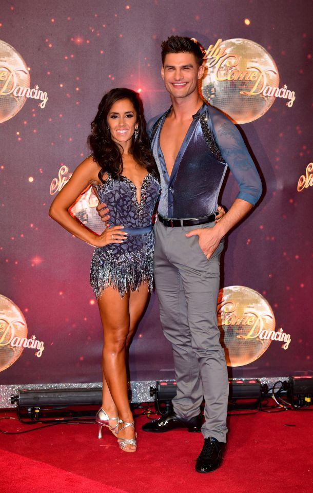 09b210f396fc Professional dancers and real life couple Janette Manrara and Aljaz  Skorjanec are both set for this year's series