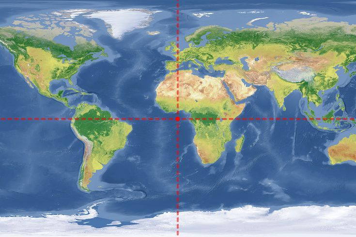 Where On Earth Are 0 Degrees Latitude And 0 Degrees Longitude