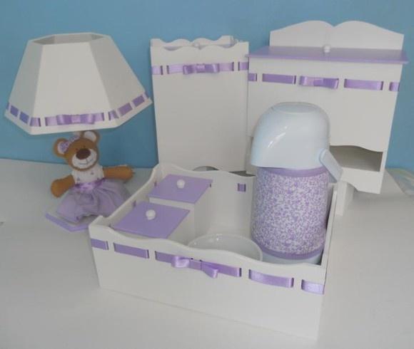 Kit higiene - garrafa térmica molhadeira