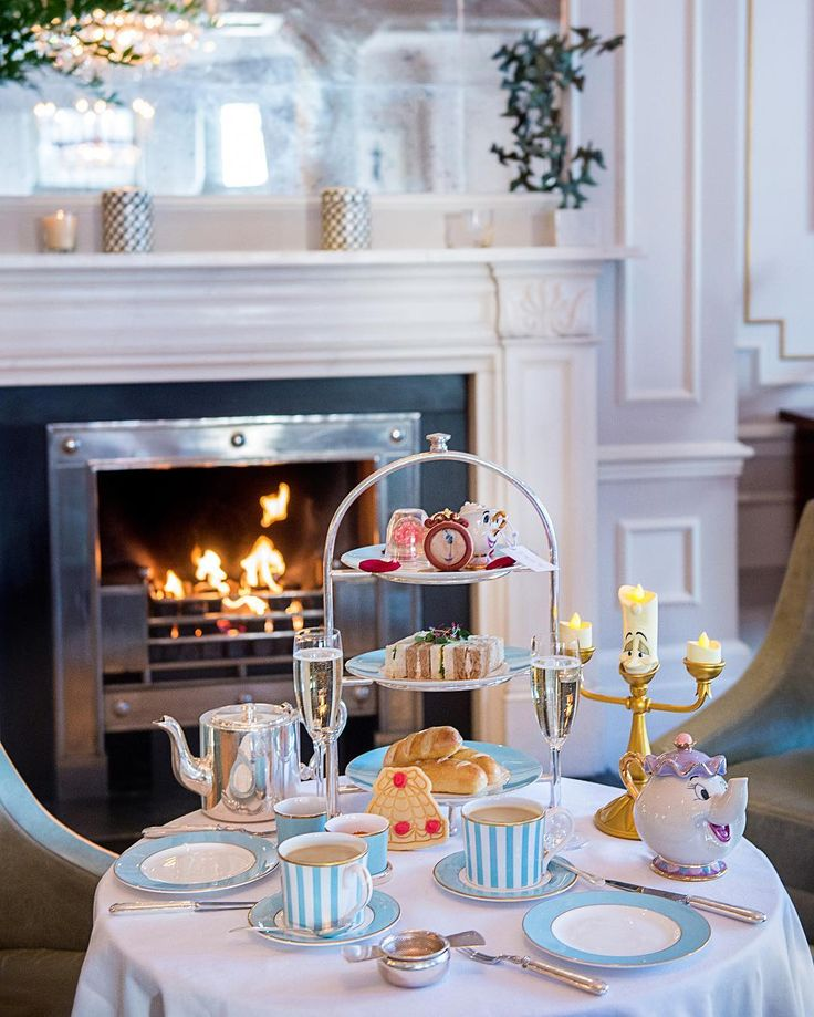 The Town House at the Kensington Hotel in London is now offering a magical Beauty and the Beast themed afternoon tea called 'Tale as Old as Time'.