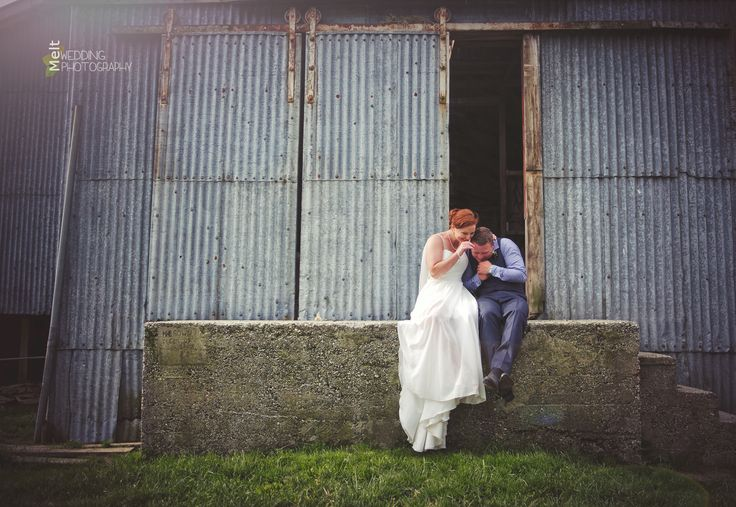 Couldn't get enough of these two cuties, Josh & Megan at their Moa Flat farm wedding http://www.weddings.meltnz.co.nz/galleries/15