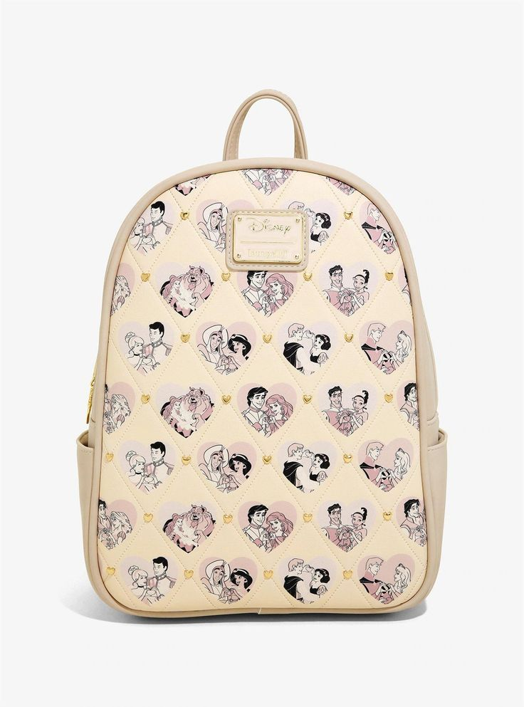 Loungefly disney princess couples mini backpack boxlunch