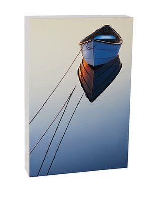 44% OFF Art Block Lone Boat Fine Art Photography on Metal