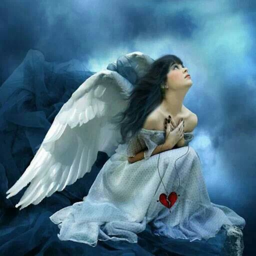 Angel- Going back to serve the Lord! When he comes back!