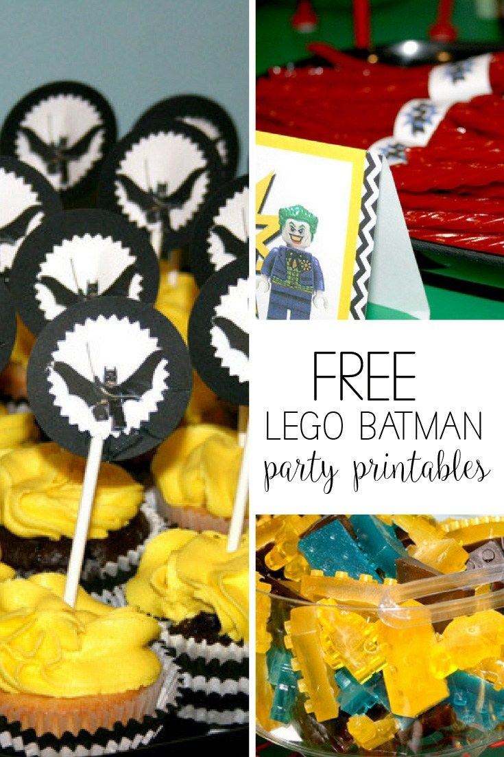 Check out my Lego Batman birthday party and free printable TNT licorice wrappers or Lego