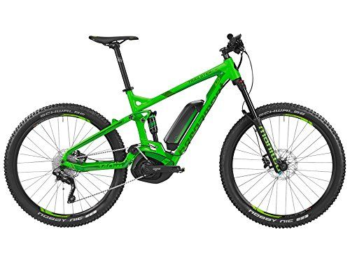 Bergamont E-Line Trailster C 7.0 400 27.5 Pedelec Elektro MTB Fahrrad grün/schwarz 2016