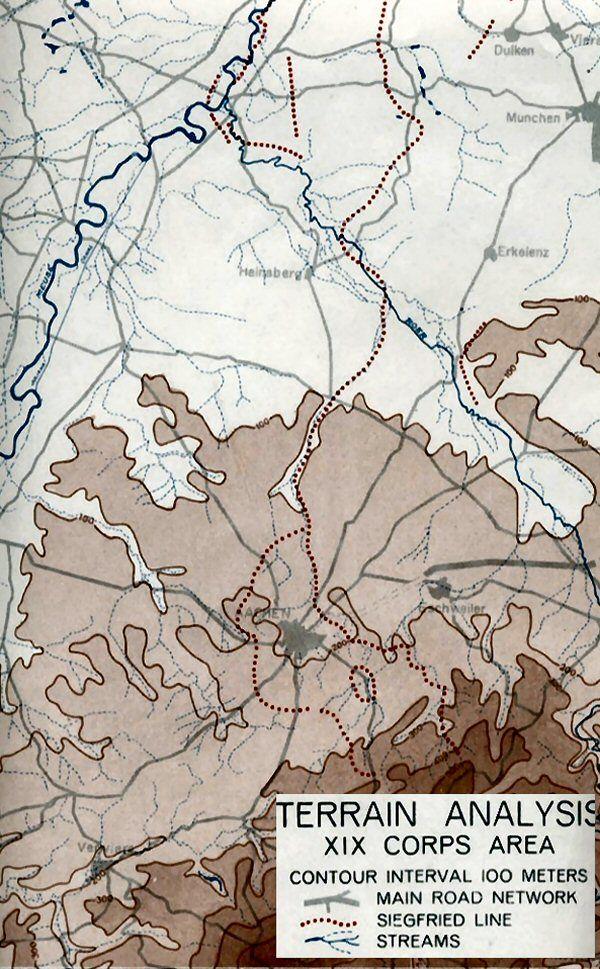 US XIX Corps, Across the Siegfried Line, October 1944 | EUCMH