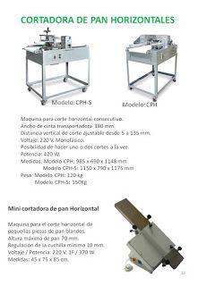 COBEPAN.ES maquinaria y accesorios para Panaderia y Pasteleria.: Cortadoras Horizontales en Continuo.