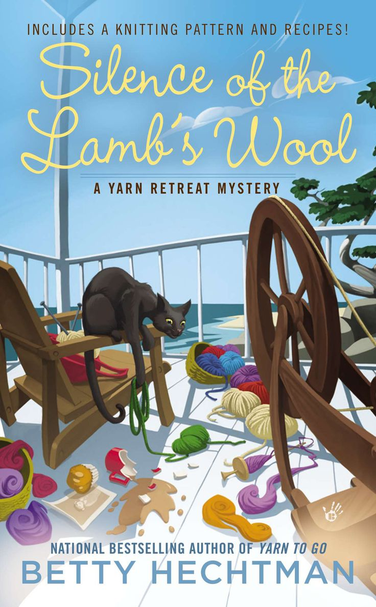 Crafty Audiobook Review: Silence of the Lamb's Wool: A Yarn Retreat Mystery, Book 2: It's audiobook review o'clock, and this week we're diving into the second book in Betty Hechtman's A Yarn Retreat Mystery series, Silence of the Lamb's Wool: A Yarn Retreat Mystery, Book 2. #audiobook #mystery #crafts #books