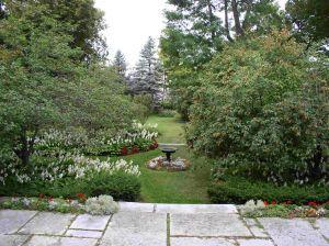 Victorian Garden, Jefferson County Historical Society, Watertown, NY