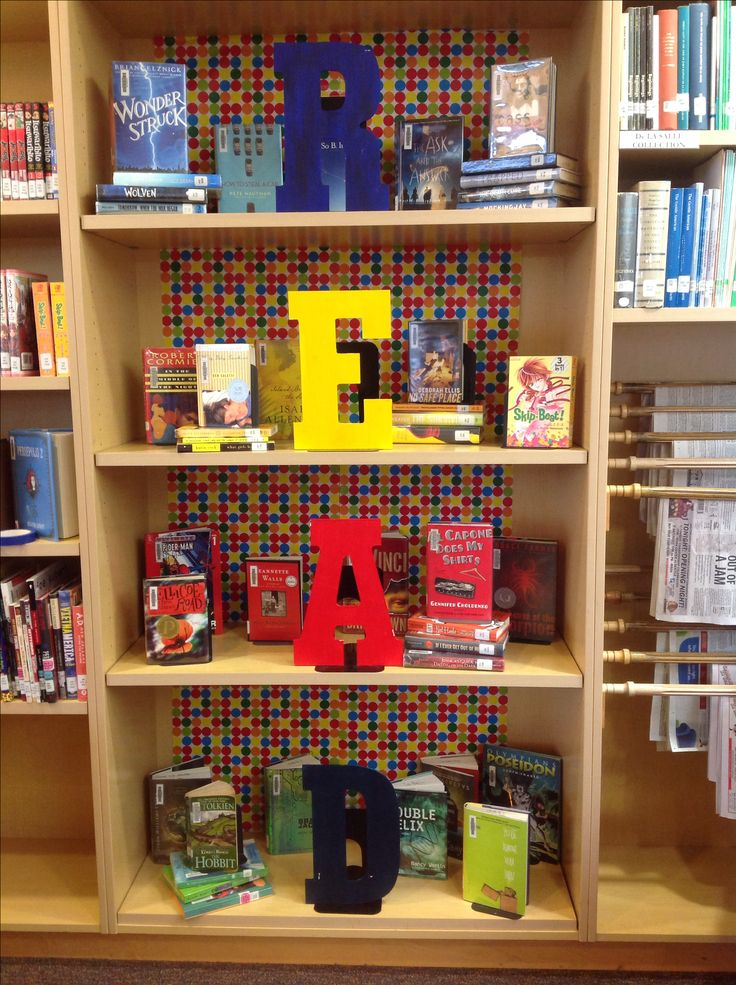 Simple READ display for the Library