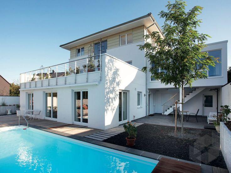 Fertigteilhaus modern  19 besten haus Bilder auf Pinterest | Grundrisse, Wohnen und Bien ...