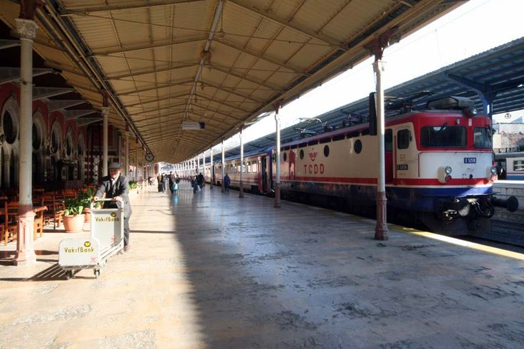 Sirkeci Train Station, former final stop of the Orient Express