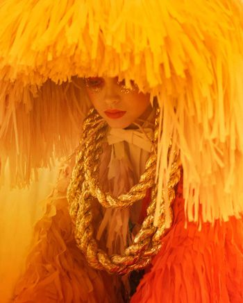 lulu frost's blog: Photos, Orange, Confettisystem, Costumes, Color, Yellow, Pom Pom, Fringes, Confetti System