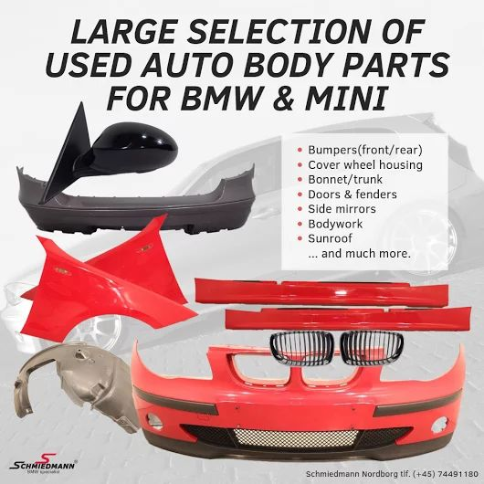 Did you know that Schmiedmann also have a huge selection of used parts for BMW and MINI? http://goo.gl/bmHFvd