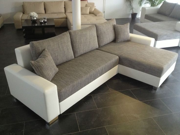OVP NEU 260cm Mega Big L Sofa COuch Wohnlandschaft Megasofa Bettsofa  Schlafcouch