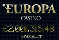 At Europa Casino, the Spamalot jackpot is over 2,001,000€ Join and play now 2400€/$ welcome bonus ♥ http://bit.ly/14dzQd3  ♥ #jackpots #slot
