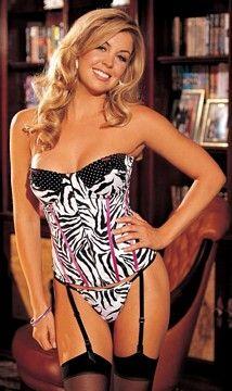 Polka Dots & Zebra Print Bustier by Shirley of HollywoodLingeriee Sleepwear, Polka Dots, Lingeriee Panties, Dots Zebras, Sexy Lingerie, Prints Bustiers, Animal Prints, Zebras Prints, Zebra Print