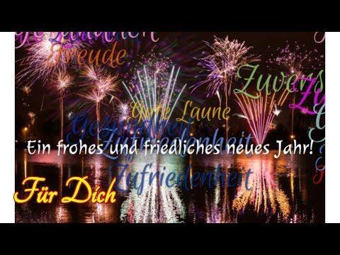Silvester Video Gruß für Dich Frohes Neues Jahr Neujahr Guten Rutsch - YouTube