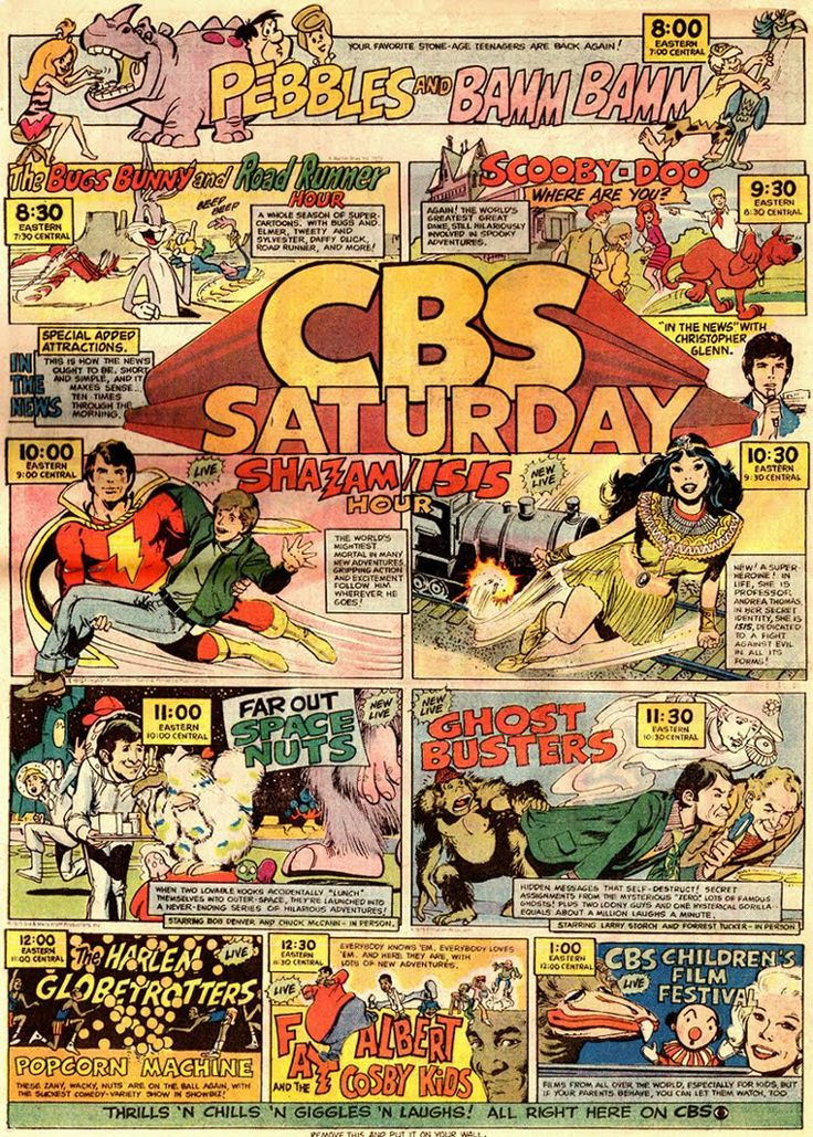 Saturday Morning Comic Book Ads                                                                                                                                                                                 More