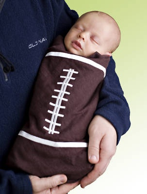 Oh, the little man needs to have this.  His Daddy would be so proud.