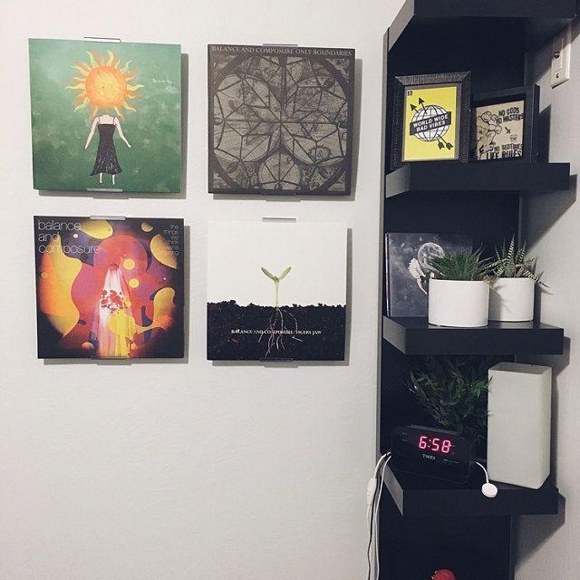 die 37 besten bilder zu albummount record album display auf pinterest, Möbel