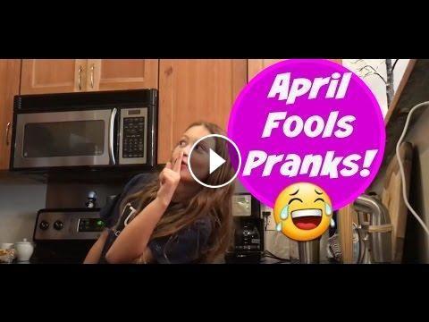 Funny April Fools Pranks By Dad And Daughter #AprilFoolsPranks  #funny #prank