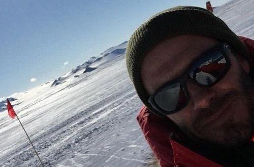 Для участия в футбольном матче Дэвид Бекхэм прибыл в Антарктиду