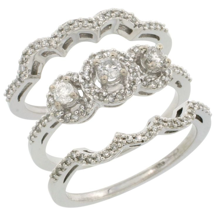 3 Piece Rings - Wholesale - Afford Price: Contact Us @ (213) 689-1488 or info@silvercity.com