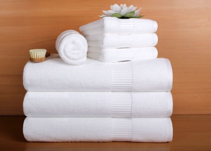 Fluffy Hotel Towels