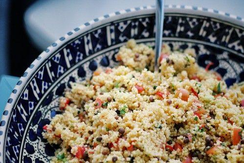 Couscous Salat / Couscous salad