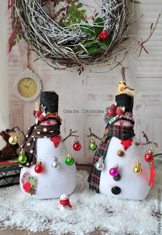 Купить Снеговик- новогодний подарок. Тильда снеговик. - снеговичок, снеговик тильда, снеговик, снеговики