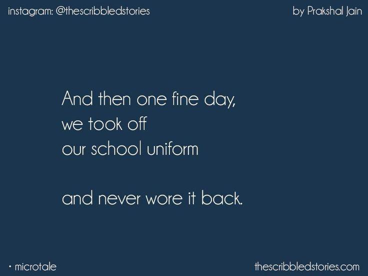 Nostalgia. #schooldays