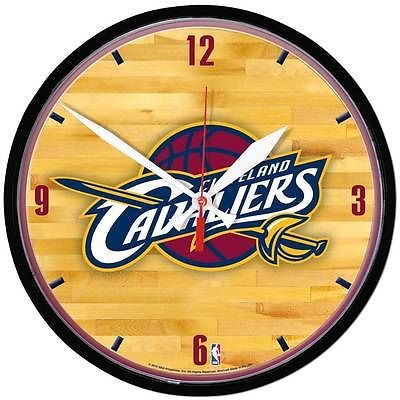 CLEVELAND CAVALIERS BASKETBALL NBA Official Licensed Quartz Movement WALL CLOCK in Sports Mem, Cards & Fan Shop | eBay