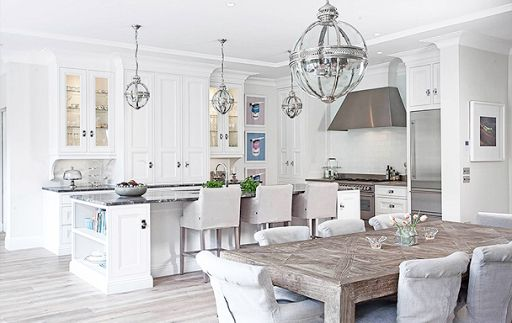 Lily Online Magazine Articles - Kathy Kuo Home. Country kitchen style