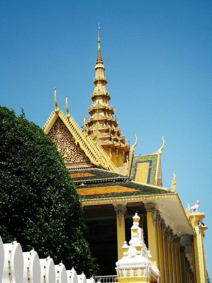 Ancient architecture #Cambodia #PhnomPenh #AsianArchitecture