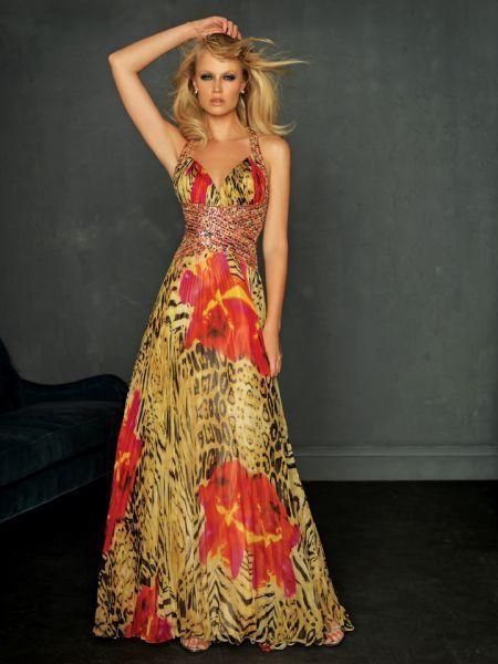 Alquiler vestidos de fiesta flores