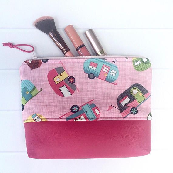Camping Gift/Camping Makeup Bag/Camping Accessories/Glamping