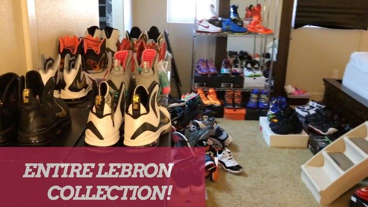 ENTIRE NIKE LEBRON SNEAKER COLLECTION!! 2017 Feels 22 Sneakers...  Here is my entire Nike Lebron Sneaker collection! Not too crazy, but wanted to share, if you enjoyed hit the like button! MY ENTIRE SNEAKER COLLECTION VIDEO https://www.youtube.com/watch?v=LnlDWUg6sGM Shop Reshoevn8r Sneaker...